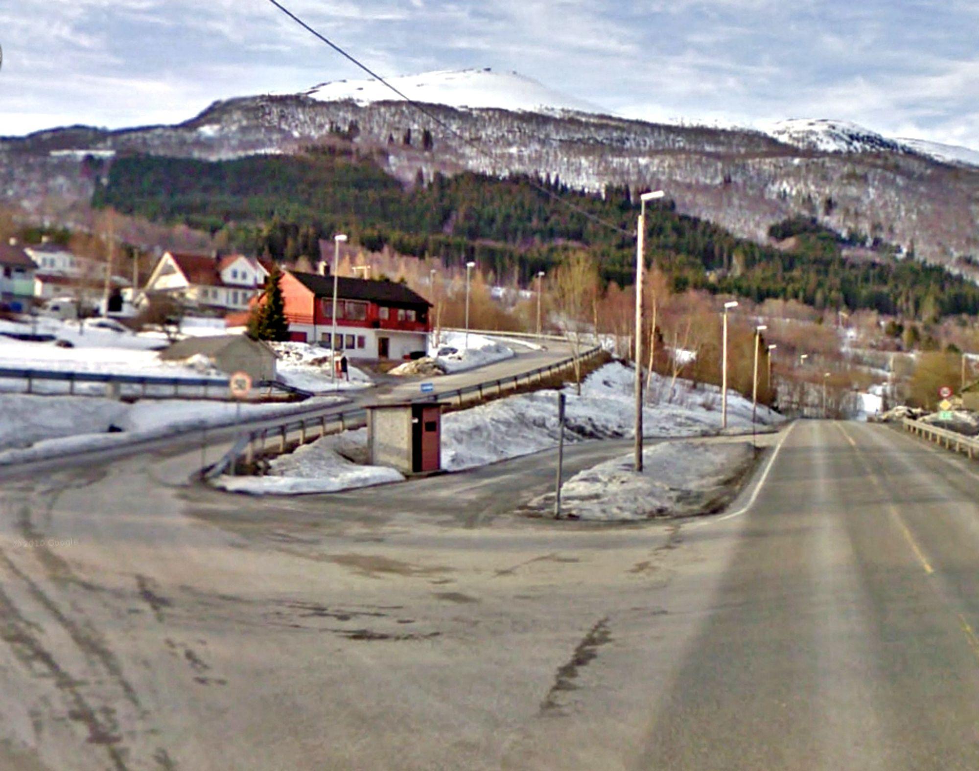 I dette krysset møtes E 39 og fylkesveg 286 i dag. Her skal det etableres et T-kryss mellom gammel og ny E 39.