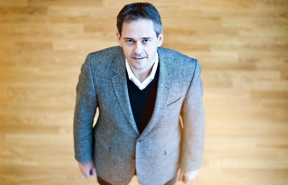 Teknologidirektør Hans Erik Vatne i Norsk Hydro