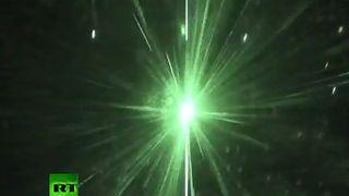 Se hvordan flygere blendes av lasere