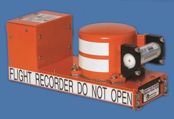 Cockpit Voice Recorder CVR svart boks