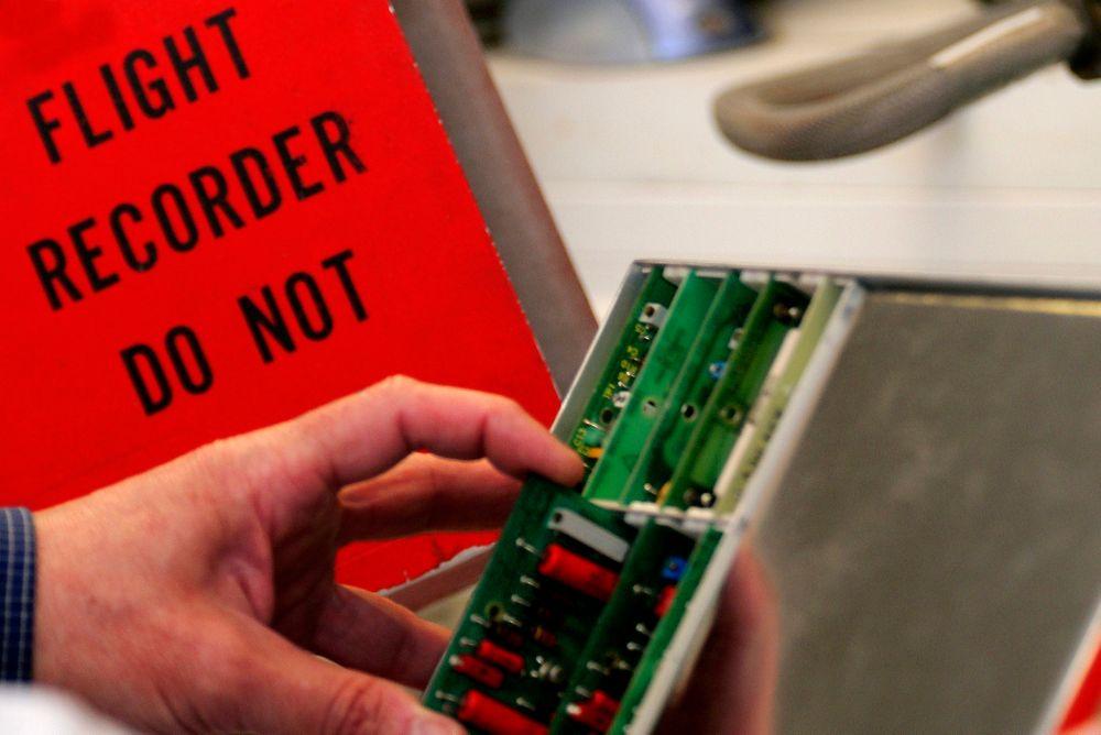 Svart boks Flight Data Recorder FDR