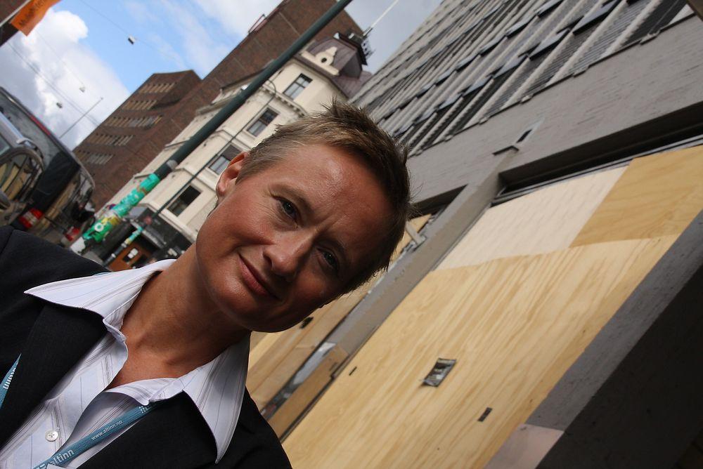 BEKREFTER: Altinn-direktør Kjersti Lauritzen bekrefter at den nye plattformen ble satt i drift før den var helt klar.