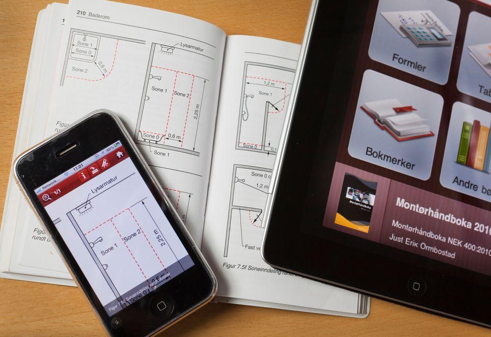 OSLO 2012-03-09: Ole Jørgen Karud og Håvard Bell har startet firmaet Catenda, en spin-off fra Sintef Byggforsk. De har blant annet laget en applikasjon for smart-telefoner, som iPhone og Android-baserte systemer. FOTO: WERNER JUVIK