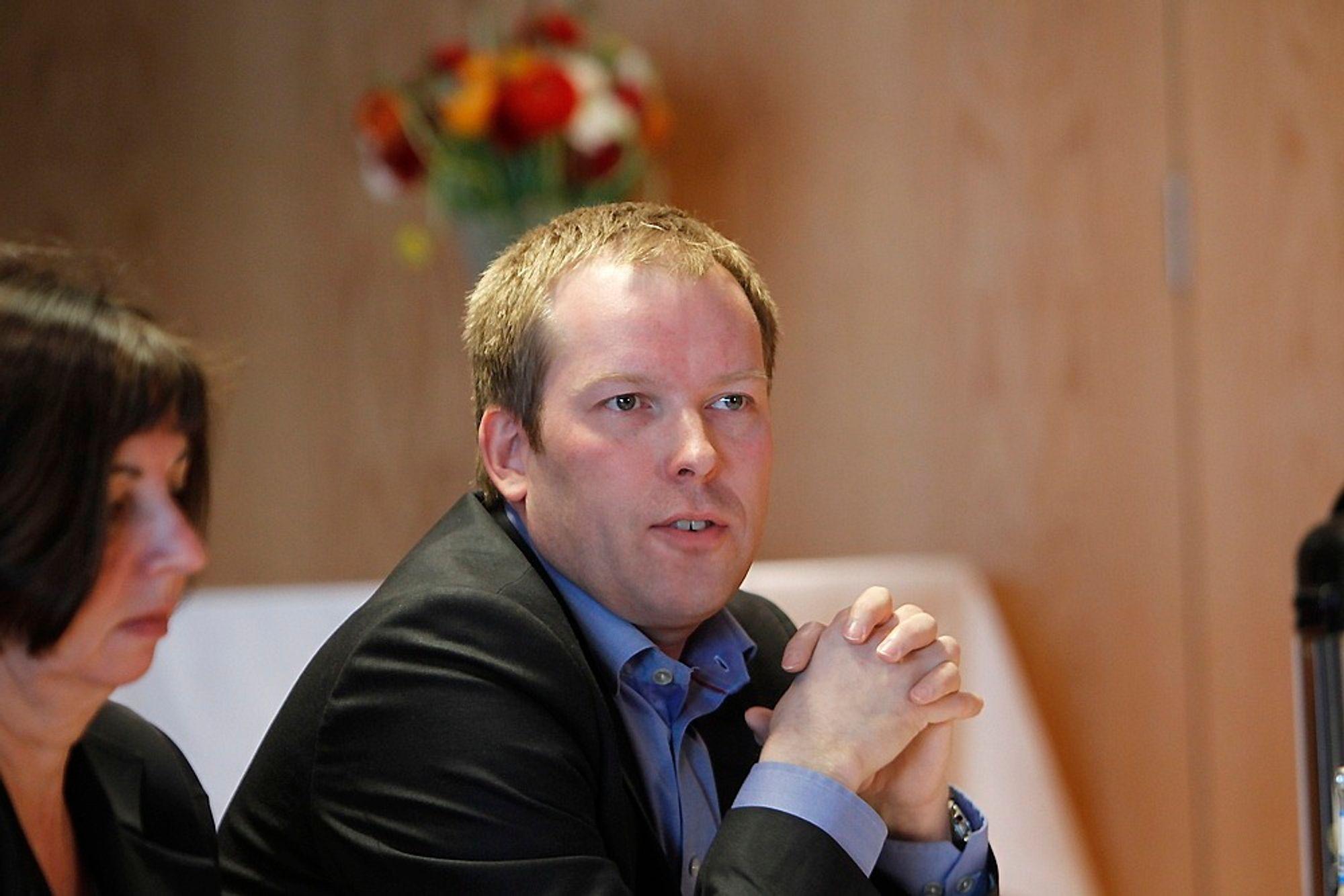 Håkon Haugli er mannen som skal overta lederjobben i Abelia etter Paul Chaffey.
