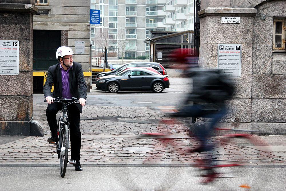 FLERE PÅ SYKKEL: 36 prosent av pendlerne til København sykler. Nå bygges nye supersykkelstier.