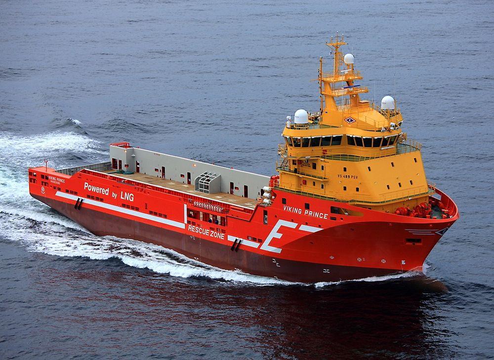 Viking Prince har en dødvekt på 6 500 tonn, er 90 meter langt og 21 meter bredt.