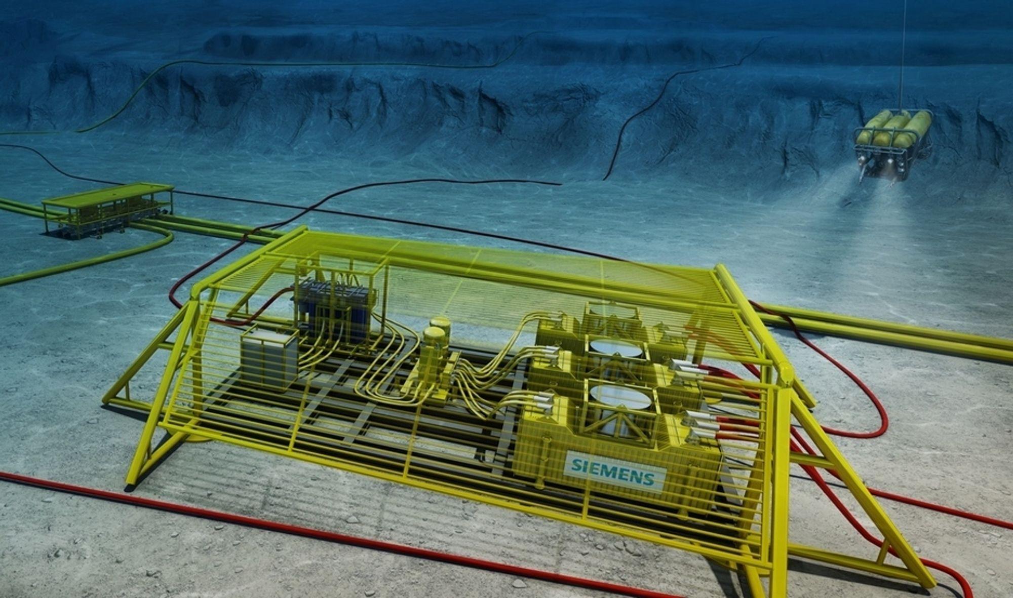 PÅ DYPT VANN: Distribusjonsnett for elektrisk strøm på havets bunn er ingen enkel sak. Siemens bygger op kompetansen i Norge. Nå vil DNV også styrke sin med svensk hjelp.