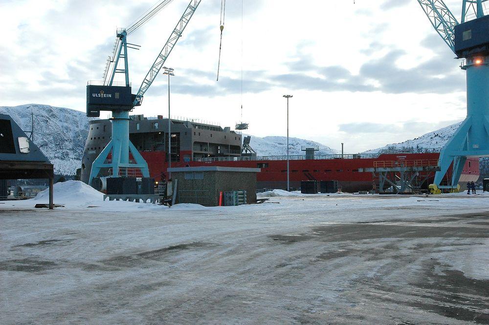 MER Å GJØRE: Skipsverftene økte aktiviteten med 12,4 prosent i januar i år sammenlignet med januar 2011.