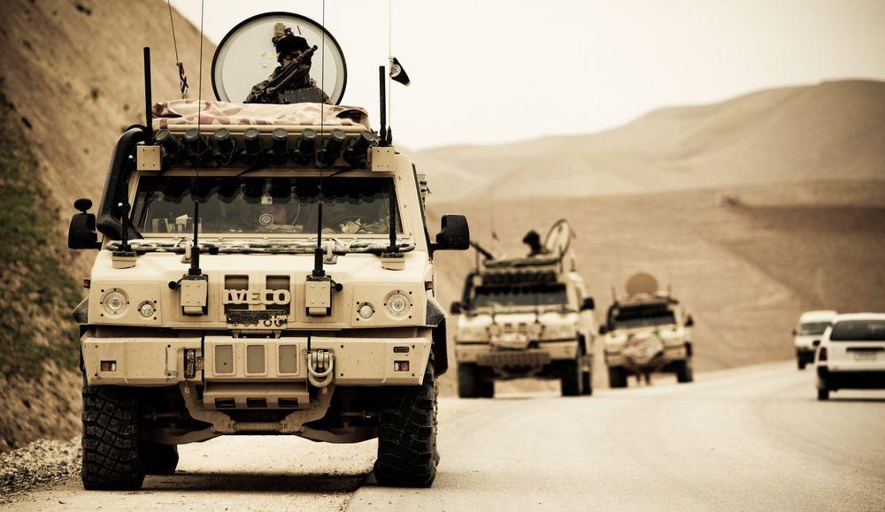 Norske soldater trener og deltar på en afghansk operasjon i Meymaneh/Norwegian soldiers participate in an afghan national Army operation in Meymaneh
