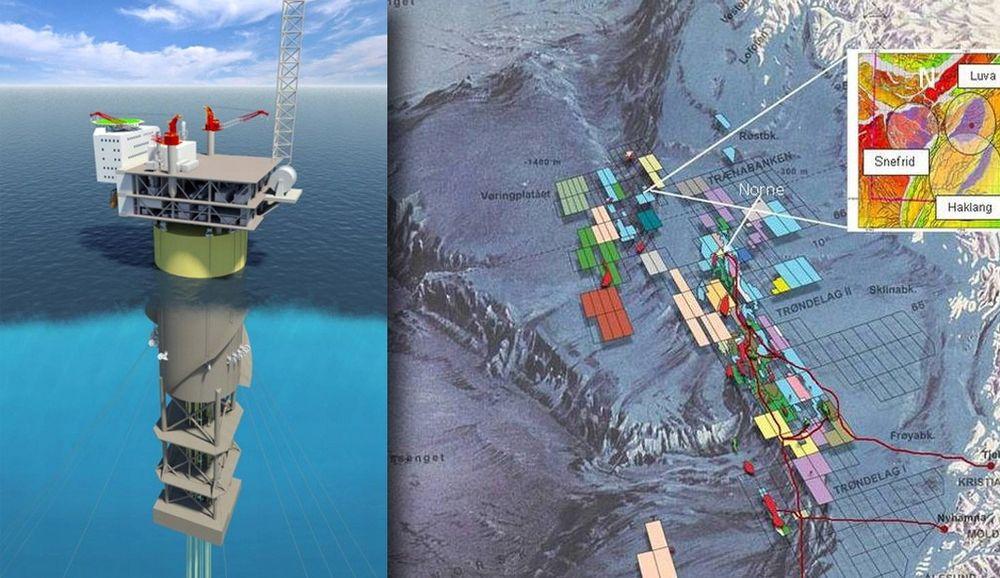 Aasta Hansteen skal bygges ut med verdens største Spar-plattform