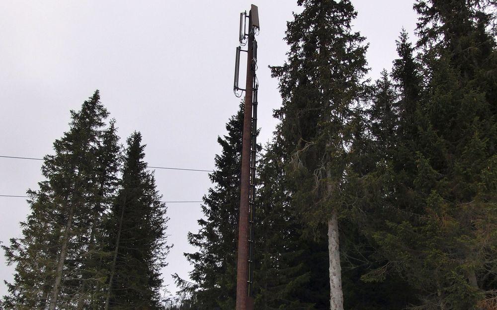 RASKT I BAKKEN: Kvitfjell er en av skidestinasjonene som nå har fått LTE-nett, og dermed gir mange raskere nettforbindelse i bakken enn de har hjemme.