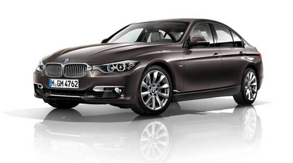 NYE 3-SERIE: BMWs nye 3-serie, som lanseres i februar, får mindre motorvolum, men mer ytelser og lavere forbruk.