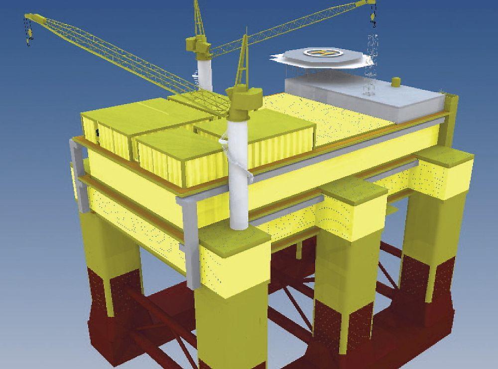 NYTT MARKED: Dolwin Beta er en flytende omformerstasjon for vindkraft. Den representerer et nytt marked for norske offshoreleverandører.