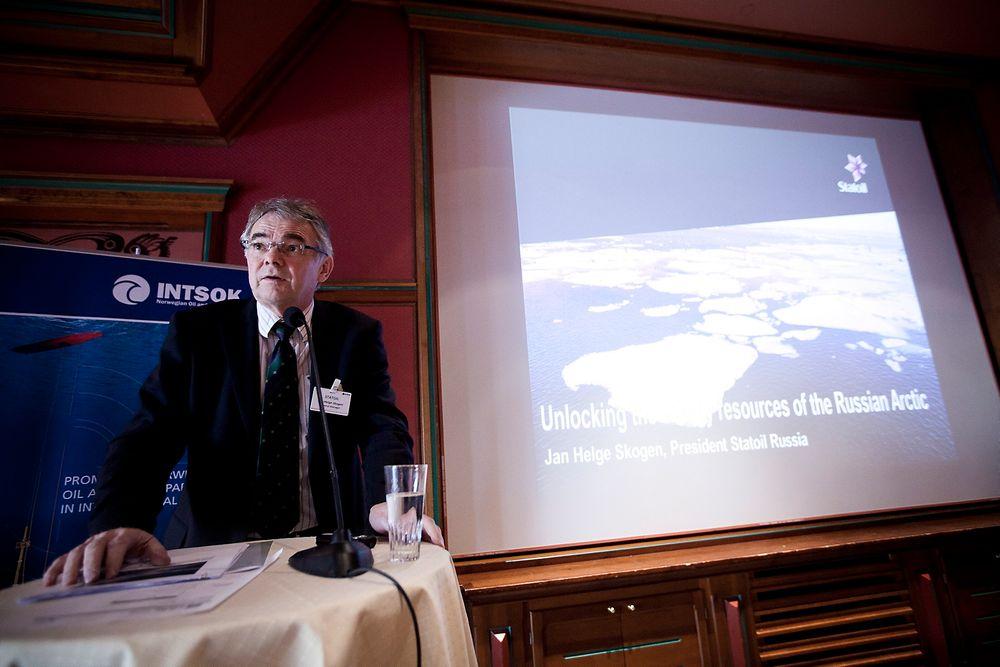 Jan Helge Skogen fortsetter misjoneringen for skattelette fra russiske myndigheter. Før dette kommer på plass er ikke Shtokman-prosjektet kommersielt gjennomførbart.
