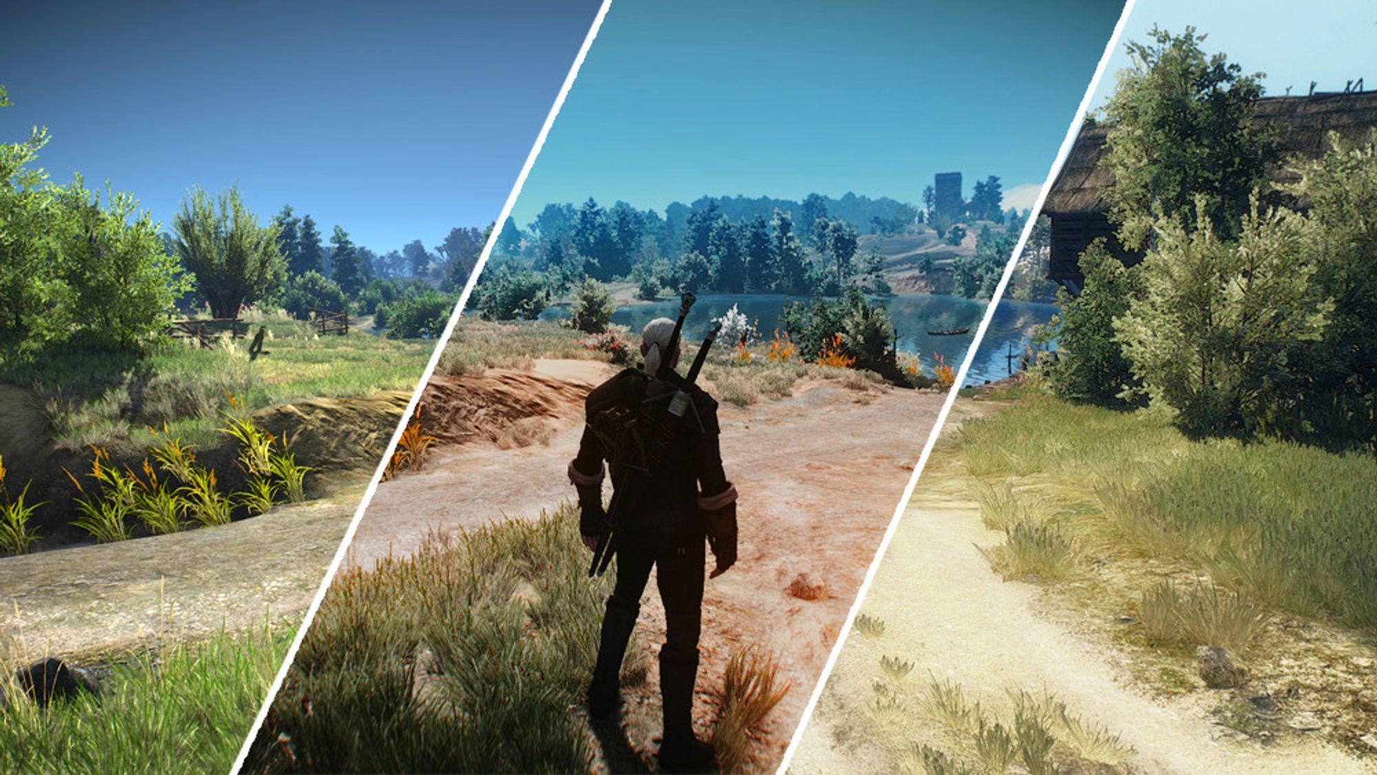 The Witcher III har i dei siste månadane fått ei lang rekkje av grafikkmodifikasjonar.