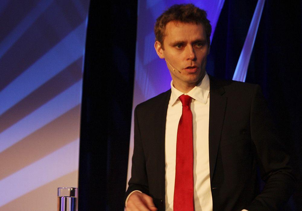 FÅR SVERDRUP: Olje- og energiminister Ola Borten Moe har fått viljen sin.
