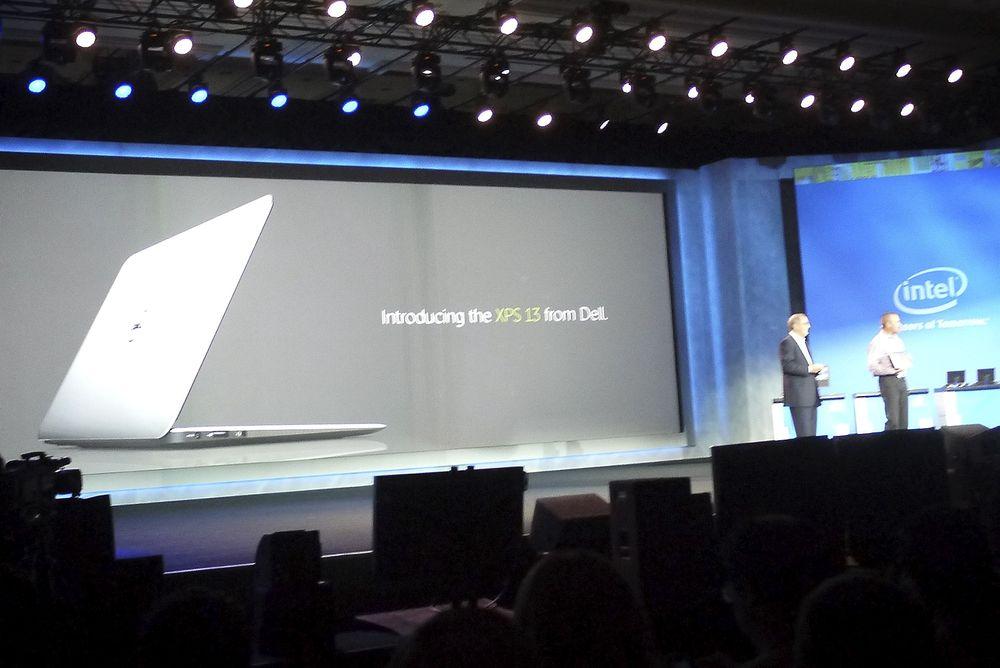 DELL ULTRABOOK: Dells nye ultrabook kan blant annet by på Gorilla-glass og nesten ni timers batteritid.