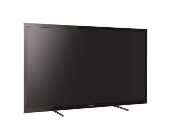 Luftpute: Sonys nye stand skal gi en illusjon av at TV-en står på en luftpute, uten at det skal gå ut over stabiliteten.