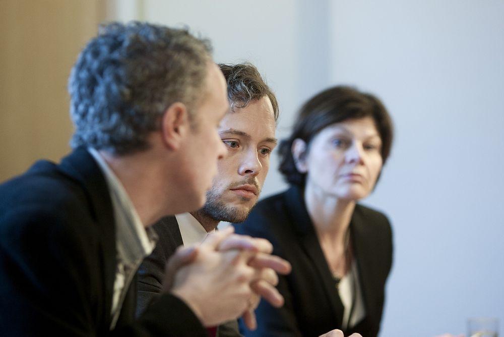RAPPORT: Jon Rogstad (til venstre) sier at arbeidsgivere selv mener de ikke diskriminerer. Audun Lysbakken er bekymret.