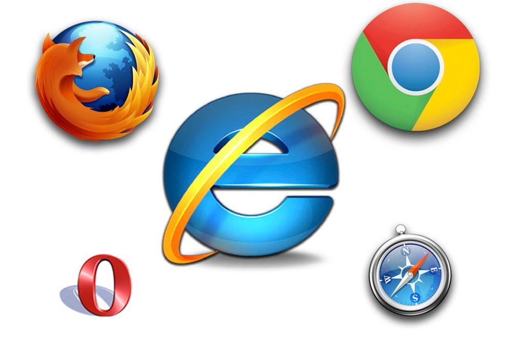 I BANE: Google Chrome hadde et svært godt 2011, mens Internet Explorer og Mozilla Firefox ser ut til å miste markedsandeler.