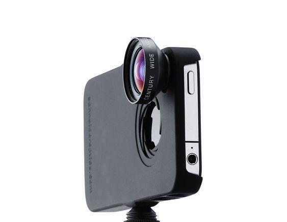 SKRUS FAST: Ipro Lens Systems har en egen festeanordning.