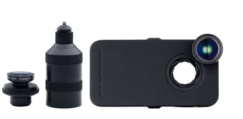 PROFFERE IPHONE 4-KAMERA: Schneider Optics Ipro Lens Systems tilfører vidvinkel og optisk zoom på iPhone 4 og 4S.