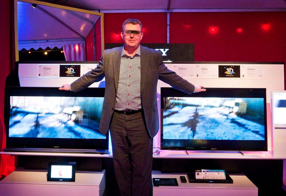 KAN VELGE:Sonys nordiske markedssjef Jonathan White mener selskapet er i en veldig gunstig posisjon som har to nye lysdiodebasert teknologier de kan utnytte som fremtidens TV.