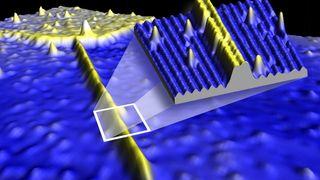 Dette er verdens minste ledning i silisium