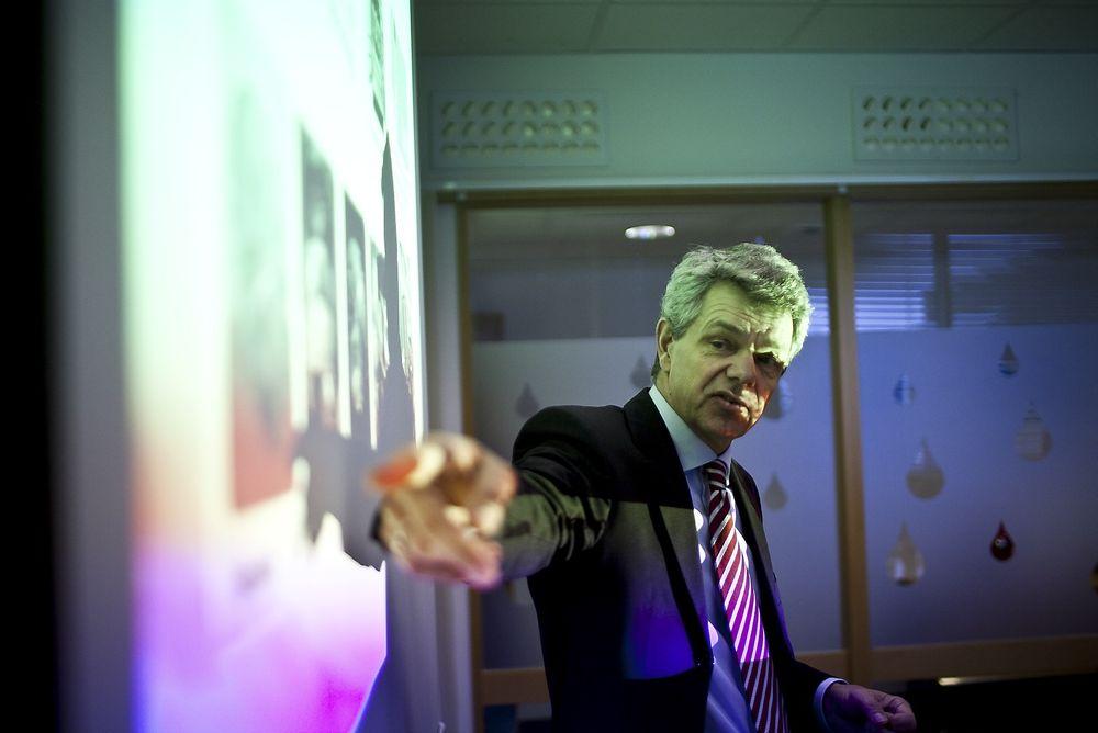 MILJØET ER BORTE: Det må en nasjonal dugnad til for å skape flere norske eksperter på generatordesign, mener Rainpower-sjef Svein Ole Strømmen.