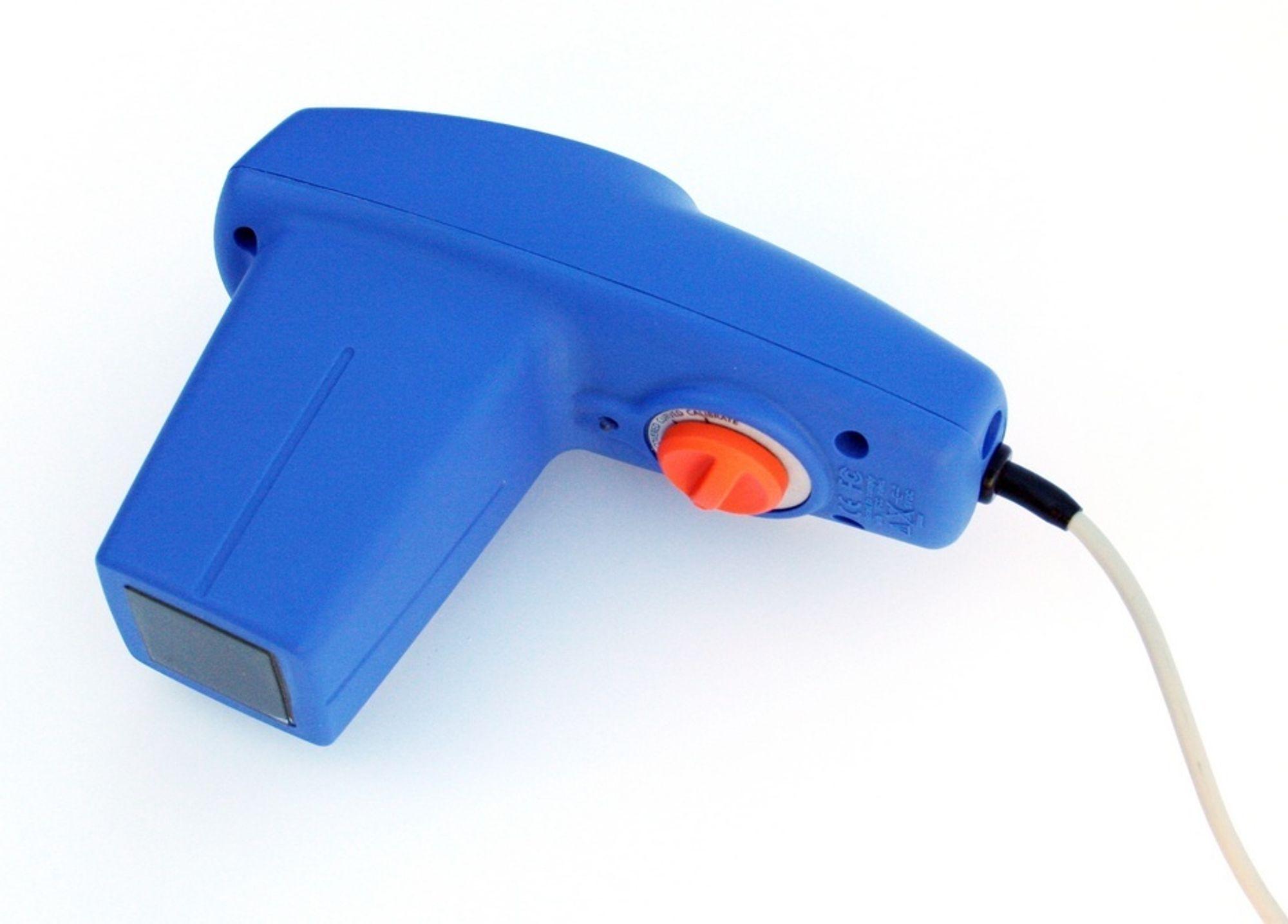 ENKEL DESIGN: Det håndholdte NDT-instrumentet kan betjenes uten spesiell trening.