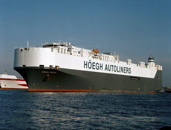 BILSKIP: Første fullskala OceanSaver BWT er montert og i drift på Höegh Trove.