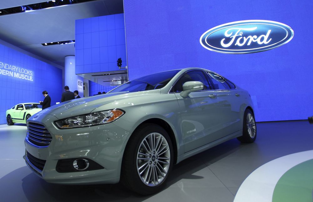 Nye Ford Fusion.