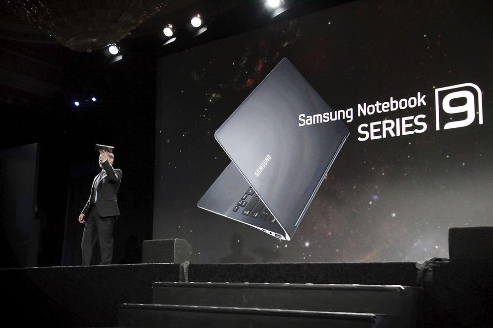 LETTERE: Samsungs 9 Series blir både tynnere og lettere. Nå veier den bare skarve 1,1 kilo.
