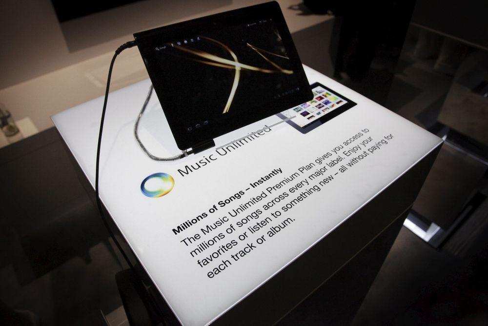 SPOTIFY-KONKURRENT? Sony lanserer Music Unlimited også i Norden. Det fungerer ennå ikke på iPhone eller offline, men Sony jobber med saken.