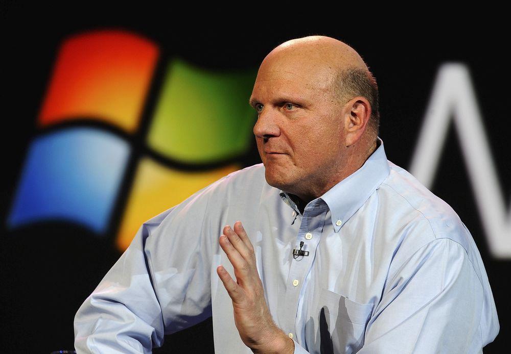 METROFIL: - Metro, Metro Metro er det nye i år!, sier Microsoftsjef Steve Ballmer, og snakker om det felles grensesnittet for Windows 8 og Windows Phone.