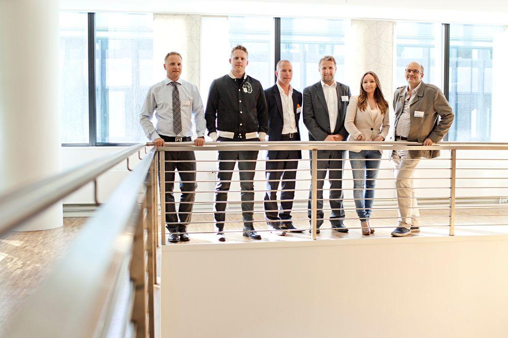 NORINT stipendvinnere: Jone Rasmussen (Bitreactive AS), Morten Isachsen (Fribi AS), Ivar Sagmo (AiMs Innovation AS), Håvard Fjellvær (MemfoACT AS), Mona Myrvang Johansen (Expology Solutions AS), Kjetil Lobben (Expology Solutions AS).