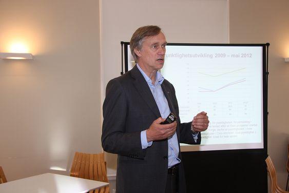 Bjørn Kristiansen, trafikkdirektør Jernbaneverket