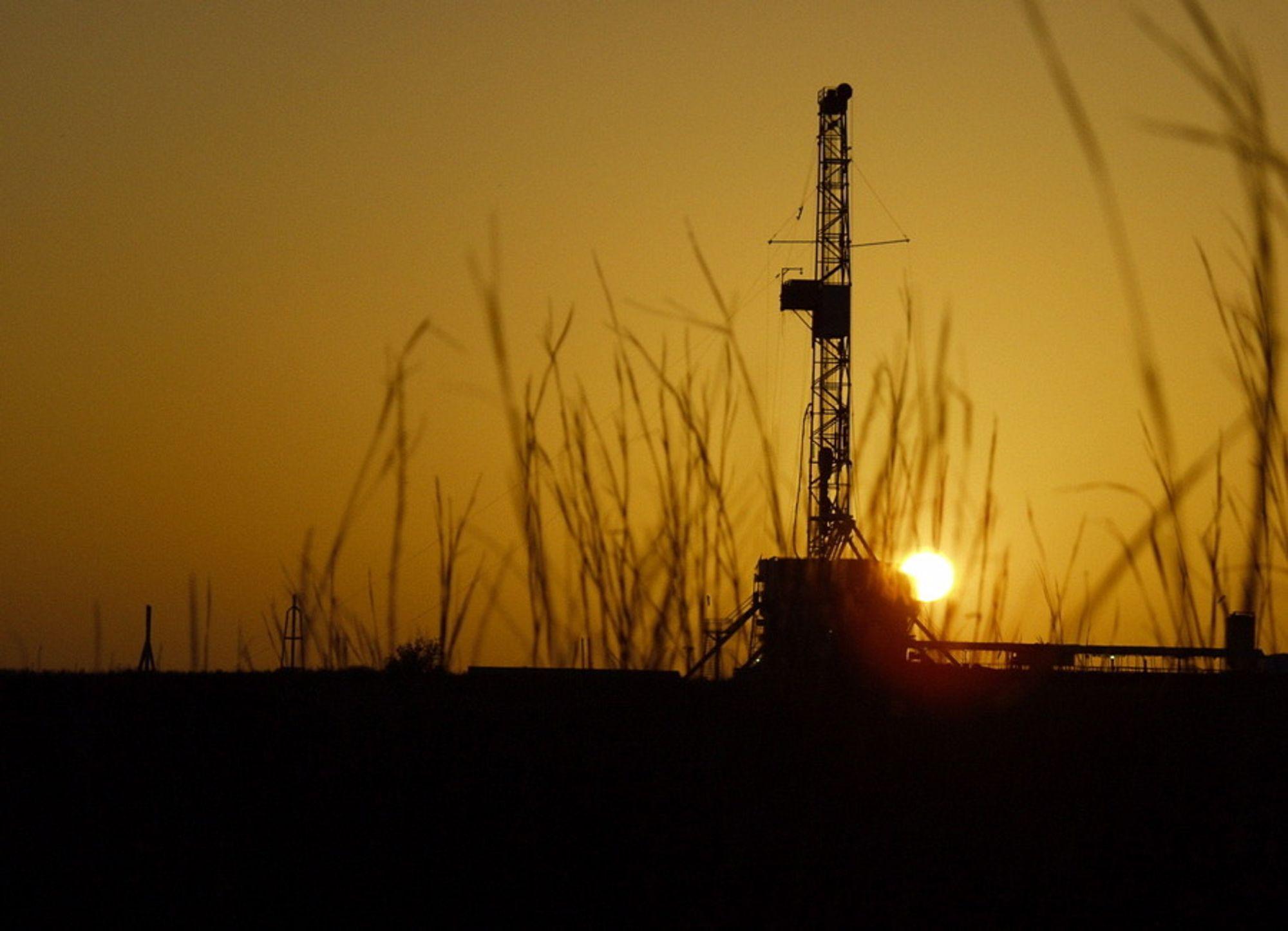 Skifergass. Chesapeake Energy