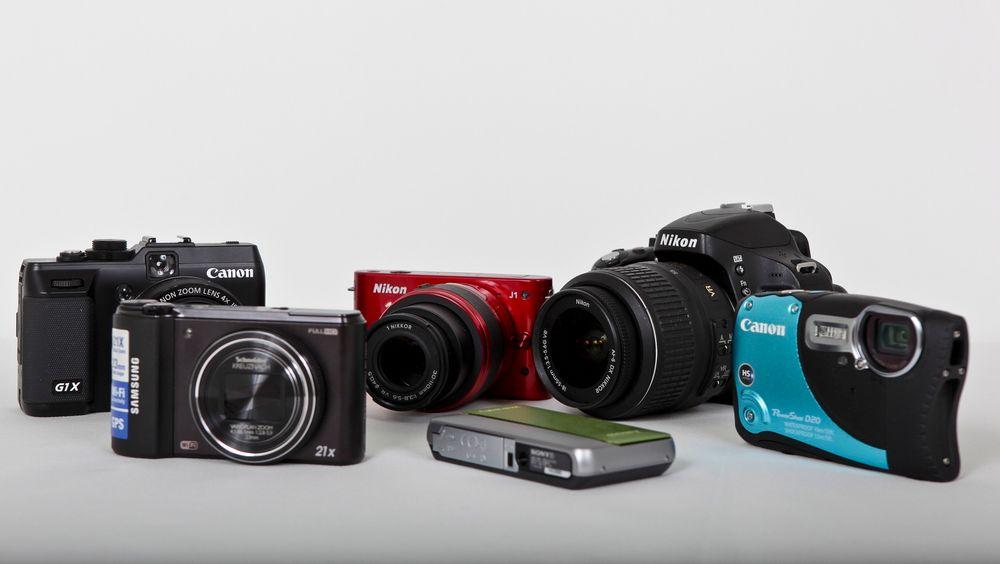 NYHETER: Teknisk Ukeblads fotograf har testet seks kameraer i forskjellige kategorier og gir deg sin dom.