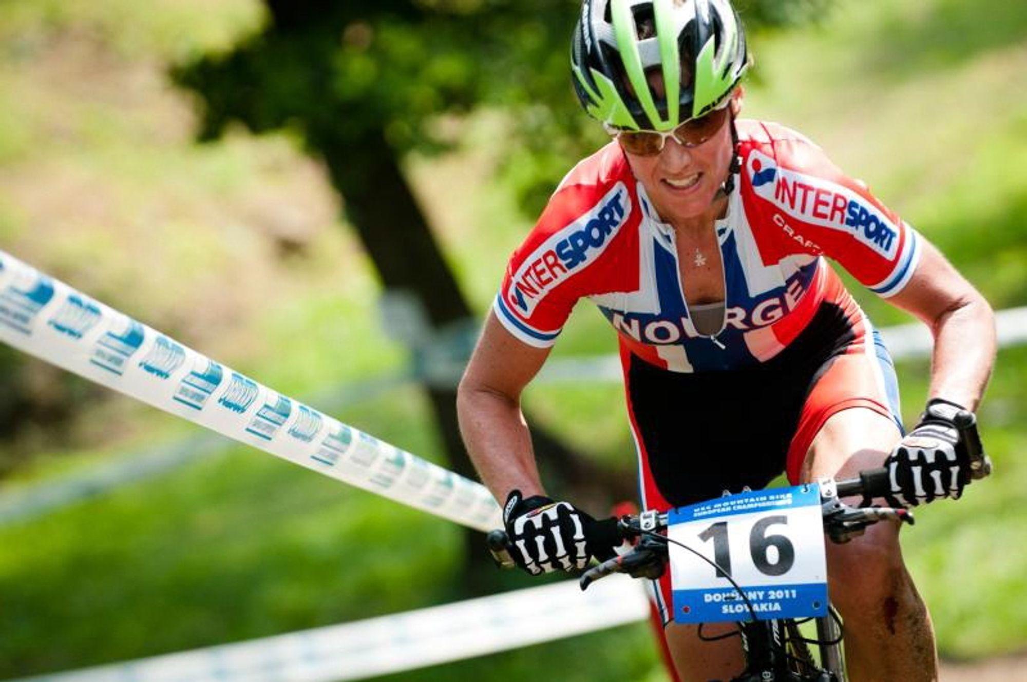TWENTYNINER: Gunn-Rita Dahle Flesjå sverger til 29'er.