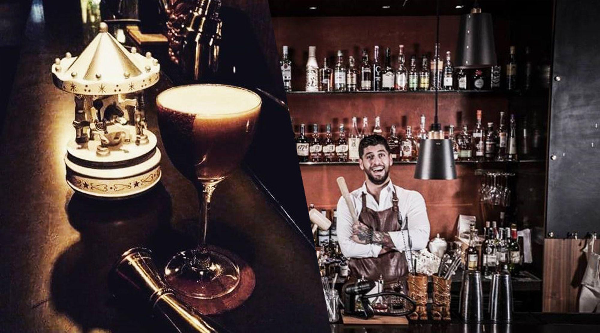Moe Aljaff har fått med seg kolleger på barer over hele Oslo og i Bergen til å mikse drinken kommende helg.