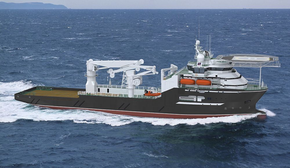 DYPT: Olympic Shipping ser behov for flere subsea konstruksjonsskip og har bestil et MT 6022 MK II fra Kleven Maritime. Skipet blir 115 meter langt og 22 meter bredt og utstyres med en 250 tonns kran.