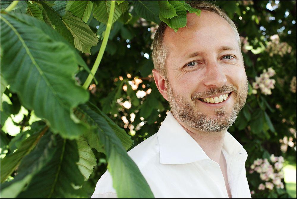 OPTIMIST:  Miljøvernminister Bård Vegar Solhjell ser frem til et lavutslippssamfunn.