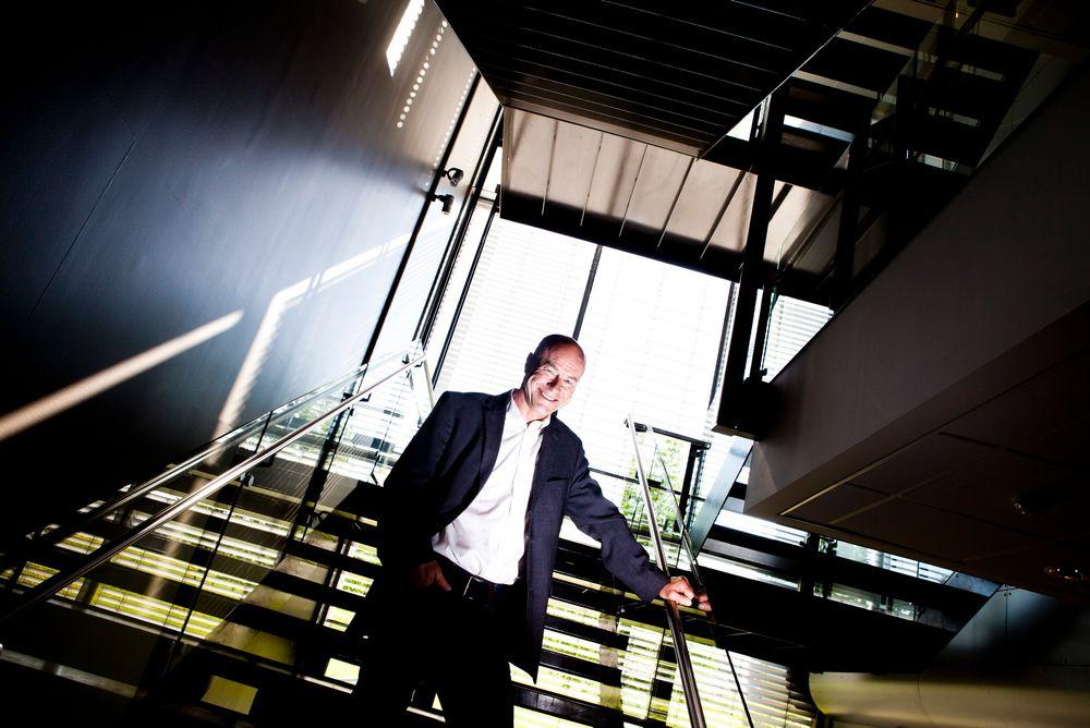AKTIV: Eirik Næss-Ulseth er proppfull av ideer og har fått Eurostars-støtte til flere prosjekter. Han tror programmet bidrar til å skape mer norsk industri.
