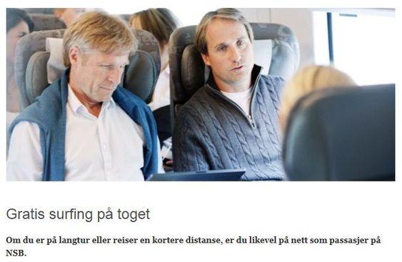 GRATIS PRATING: Om du ikke kommer på nett er det gratis å prate med andre passasjerer.