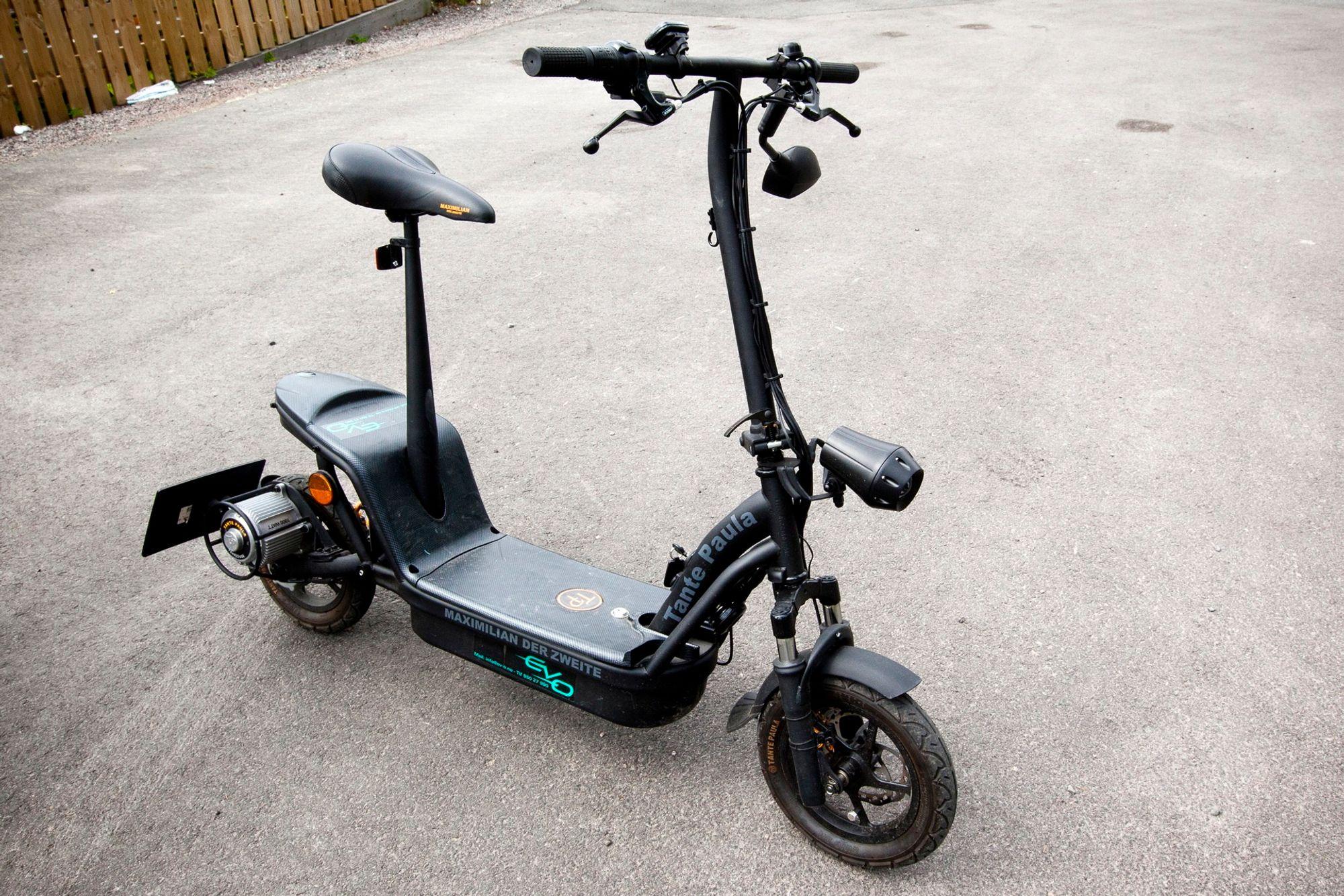 Elektrisk scooter regler