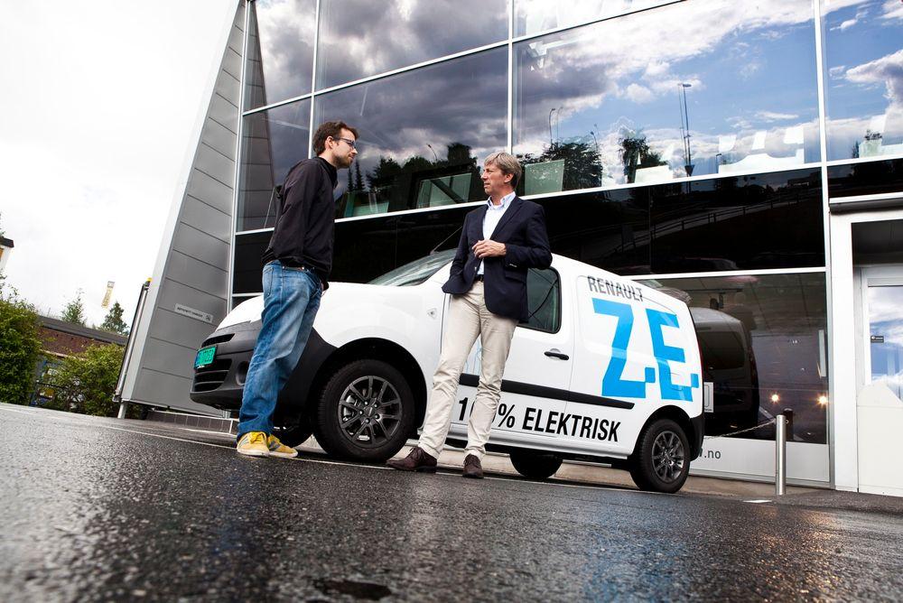 Annenhver varebil kan kjøre elektrisk