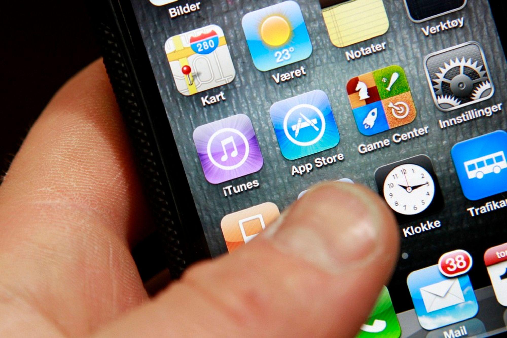 TALEGJENKJENNING: Apple har gjort talegjenkjenning til allemannseie. Nå vil norske forskere ta teknologien et skritt videre.