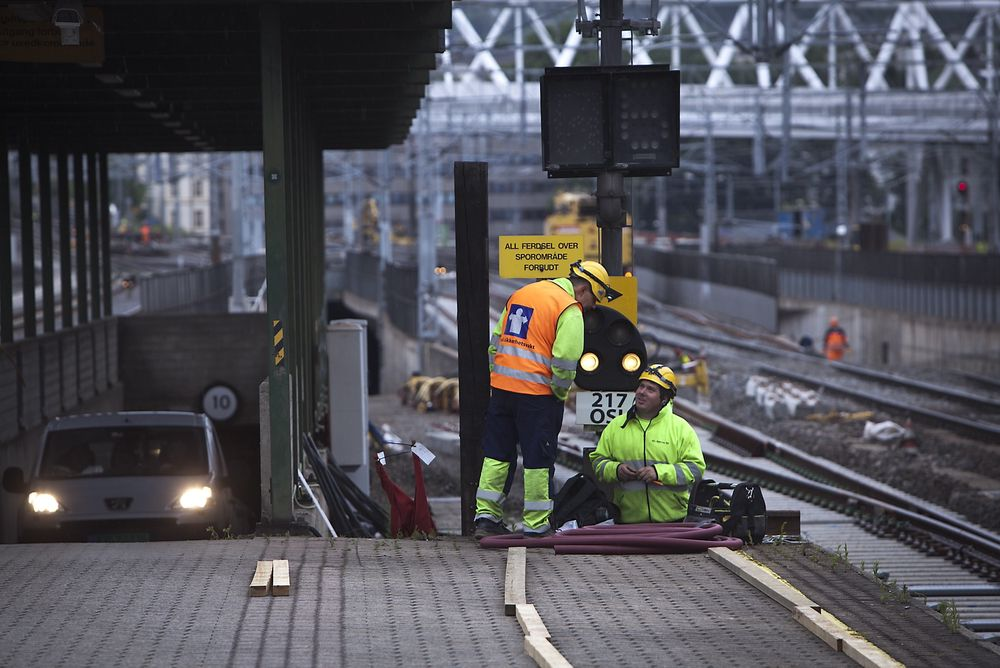Oslo S åpner igjen mandag etter årets sommerstenging. Det er den siste i denne omgang.