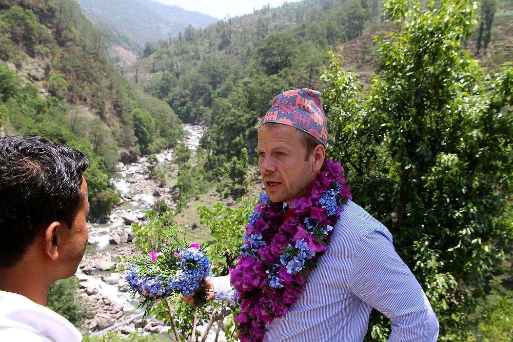 Heikki Holmås i Nepal